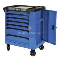 Εργαλειοφορέας Bulle 7 συρταριών με ρουλεμάν+πλαινό ντουλάπι 66437