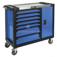 Εργαλειοφορέας Bulle 7 συρταριών με ρουλεμάν+ντουλάπι 66438