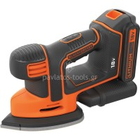 Τριβείο Mouse 18V 1.5Ah Black & Decker BDCDS18