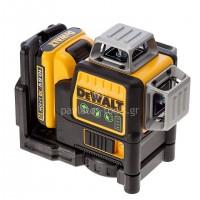 Laser Dewalt γραμμής 360 μοιρών 10,8V πράσινης γραμμής DCE089D1G