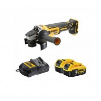 Γωνιακός τροχός Dewalt XR Brushless 125mm  (2 x 5.0Ah)  DCG405P2