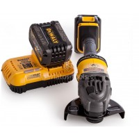 Γωνιακός τροχός Dewalt Brushless FlexVolt 54V 125mm (2x6.0Ah) DCG414T2