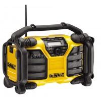 Ραδιόφωνο-φορτιστής Dewalt XR Li-on χωρίς μπαταρία DCR017