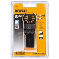 Λάμα τιτανίου Dewalt ξύλου-μετάλλου 31x43mm DT20707