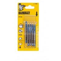 Λάμες σέγας Dewalt σετ 5 τμχ. κοπής μετάλλου HCS 76mm (T118G) DT2162