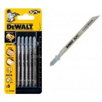 Λεπίδες σέγας Dewalt σετ 5τμχ. XPC ξύλου 100x2.5mm (T101BR) DT2207
