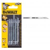Λεπίδες σέγας Dewalt σετ 5τμχ. XPC ξύλου 100x2.7mm (U101B) DT2208