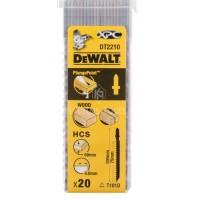 Λεπίδες σέγας Dewalt σετ 20τμχ. XPC 100x4.0mm (T101D) DT2210