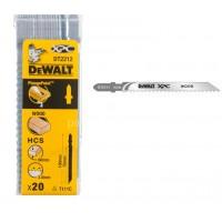 Λεπίδες σέγας Dewalt σετ 20τμχ. XPC 100x3.0mm (T111C) DT2212