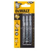 Λεπίδες Dewalt σετ 3τμχ. ξύλου-πλαστικού-laminate-mdf (T144DF) DT2220