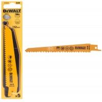 Σετ Σπαθόλαμες Dewalt 152mm 5 τεμαχίων ξύλου DT2359