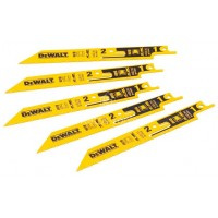 Λάμες σεγάτσας Dewalt 5 τεμαχίων 152mm 14/18TPI DT2417