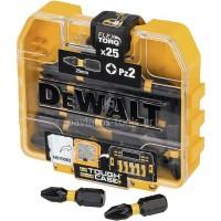 Σετ μύτες Dewalt  PZ2 No2x25mm 25 τεμαχίων DT70556T