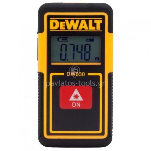 Αποστασιόμετρο Τσέπης Laser Dewalt  9m DW030PL