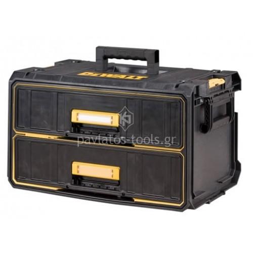 Εργαλειοθήκη Dewalt  Toughsystem με 2 συρτάρια DWST1-80123