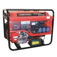 Γεννήτρια βενζίνης Kumatsu 7.5 KVA Τριφασική με AVR, Μίζα και Μπαταρία GB 6500MT 000075
