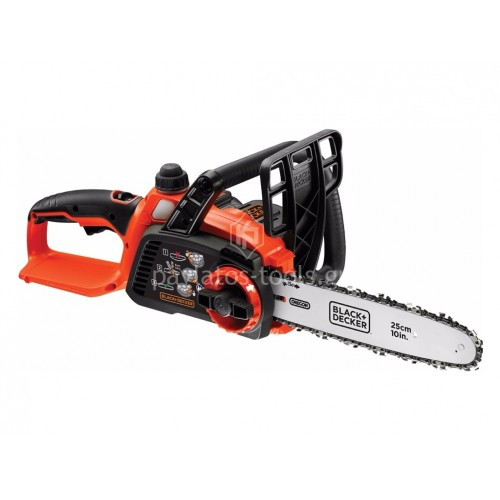 Αλυσοπρίονο μπαταρίας Black&Decker Smart Tech (Bluetooth) 25cm 18V 2.0Ah GKC1825LST