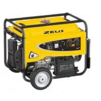 Βενζινοκίνητη Γεννήτρια Zeus 6.5 KW GS 065150E