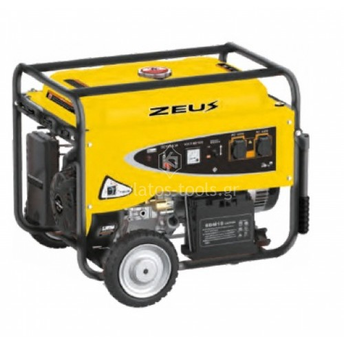 Βενζινοκίνητη Γεννήτρια Zeus 5.5 KW GS 055130E