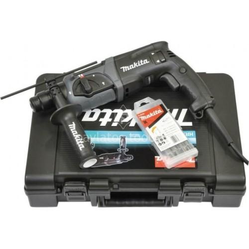 Κρουστικό Πιστολέτο Makita SDS-PLUS 24mm 780 Watt+Extra σετ τρυπάνια HR2470BX40