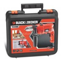 Δράπανο Κρουστικό 500W BLACK&DECKER KR504CRESK (κασετινα)
