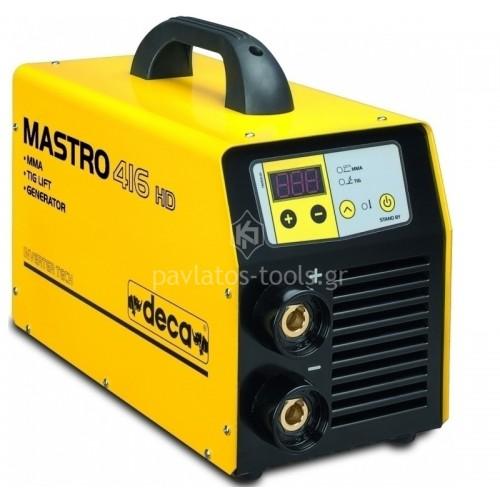 Ηλεκτροκόλληση Inverter DECA  για Ηλεκτρόδια+TIG 165A MASTRO 416 HD GEN