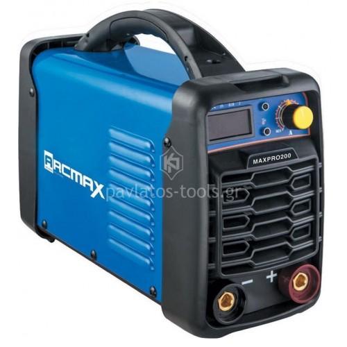 Ηλεκτροκόλληση Arcmax Inverter 200A MAXPRO 200