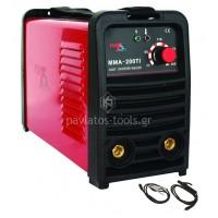 Ηλεκτροκόλληση inverter MATTECH 200A-7.0KWA με βαλίτσα MMA-200T1 69S-022013