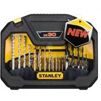 Σετ Stanley με τρυπάνια&μύτες 30 τεμαχίων STA7183