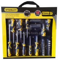 Σετ Stanley 49 τεμαχίων μύτες και κατσαβίδια STHT0-70887