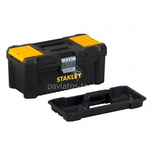 """Εργαλειοθήκη Stanley Essential με μεταλλικό κλίπ 16"""" STST1-75518"""