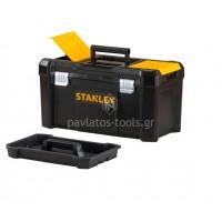 """Εργαλειοθήκη Stanley Essential με μεταλλικά κλίπ 18"""" STST1-75521"""