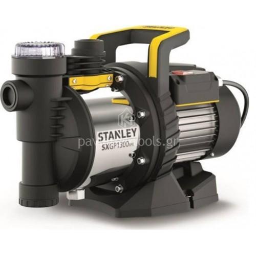 Αντλία επιφανείας Stanley με ενσωματωμένο φίλτρο νερού inox 1300 Watt SXGP1300XFE