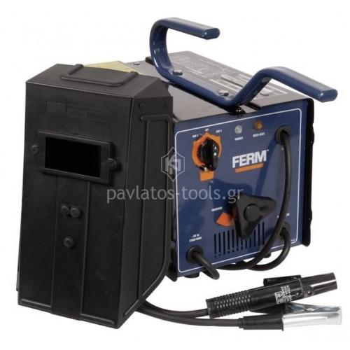 Ηλεκτροσυγκόλληση Ferm 55-160A με μάσκα απλή WEM1035