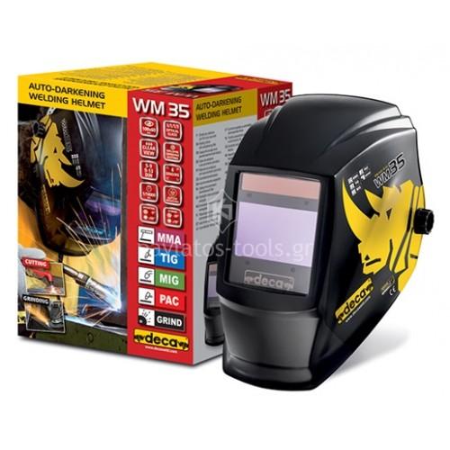 Αυτόματη Ηλεκτρονική Μάσκα Ηλεκτροκόλλησης Deca WM 35